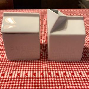 Sugar & Milk Canisters